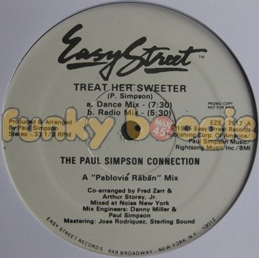 Paul Simpson Connection, The - Treat Her Sweeter (Dance Mix)