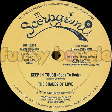 Shades Of Love, The - Keep In Touch (Body To Body) (Vocal)