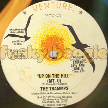 Trammps, The - Up On The Hill (MT. U)