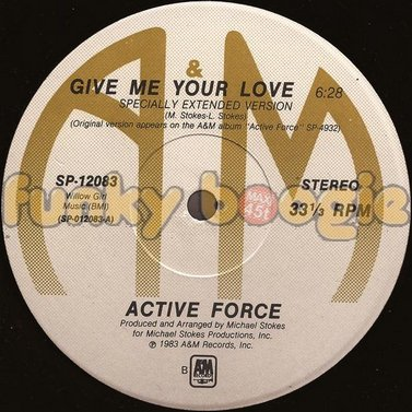 Active Force - Give Me Your Love (Specially Extended Version)