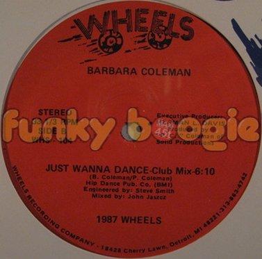 Barbara Coleman - Just Wanna Dance (Club Mix)