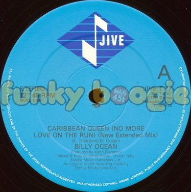 Billy Ocean - Caribbean Queen (No More Love On The Run) (New Extended Mix)
