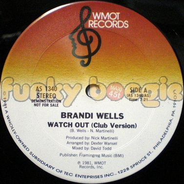 Brandi Wells - Watch Out (Club Version)