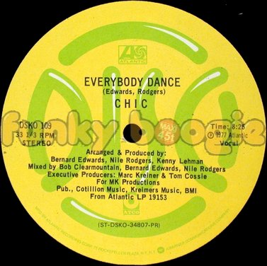 Chic - Everybody Dance (Vocal)