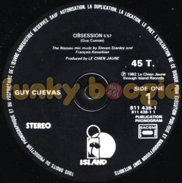 Guy Cuevas - Obsession (The Nassau Mix)