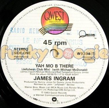 James Ingram - Yah Mo B There (Jellybean Club Mix)