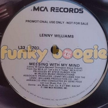 Lenny Williams - Messing With My Mind