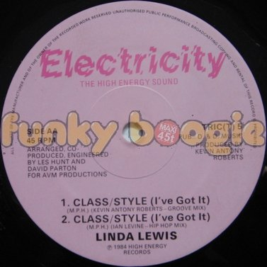 Linda Lewis - Class/Style (I've Got It) (Groove Mix)
