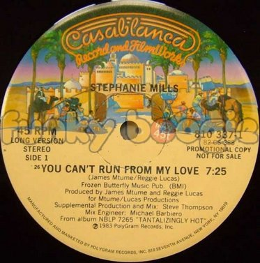 Stephanie Mills - You Can't Run From My Love (Long Version)