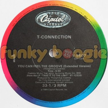 T-Connection - You Can Feel The Groove (Extended Version)