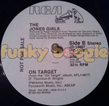 Jones Girls, The - On Target