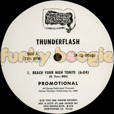 Thunderflash - Reach Your High Tonite