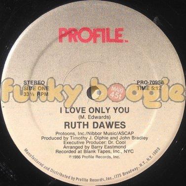 Ruth Dawes - I Love Only You