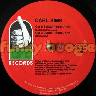 Carl Sims - Smooth Ride (Extended Version)