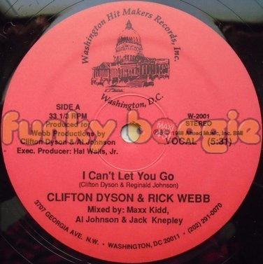Clifton Dyson & Rick Webb - I Can't Let You Go (Vocal)