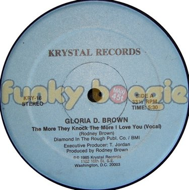Gloria D. Brown - The More They Knock The More I Love You (Vocal)