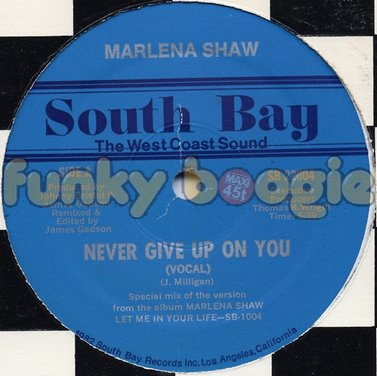 Marlena Shaw - Never Give Up On You (Vocal)