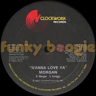 Morgan - Wanna Love Ya (Vocal)