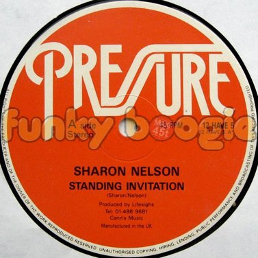 Sharon Nelson - Standing Invitation