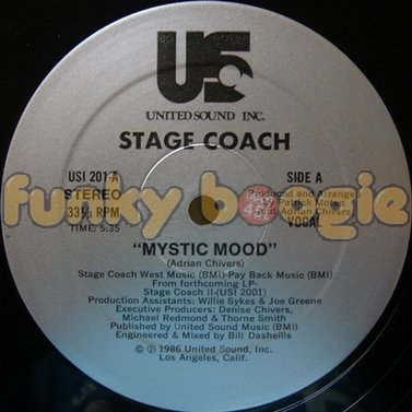 Stage Coach - Mystic Mood (Vocal)