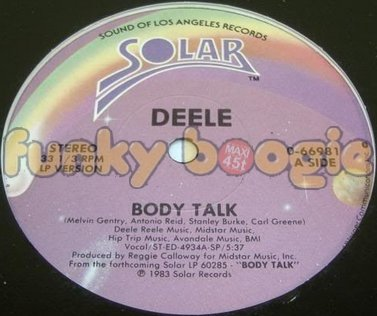 Deele - Body Talk (LP Version)