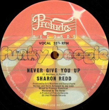Sharon Redd - Never Give You Up (Vocal)