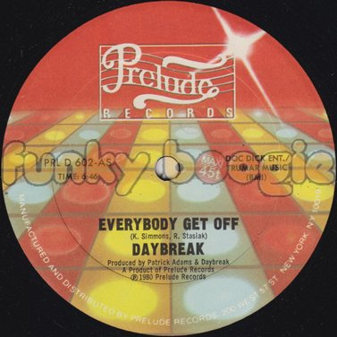 Daybreak - Everybody Get Off