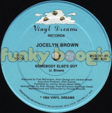 Jocelyn Brown - Somebody Else's Guy (Vocal)