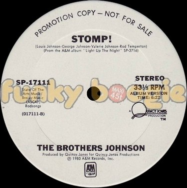 Brothers Johnson, The - Stomp! (Album Version)