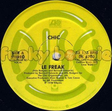 Chic - Le Freak (Vocal)