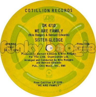 Sister Sledge - We Are Family (Vocal)