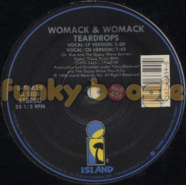 Womack & Womack - Teardrops (Vocal/LP Version)