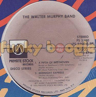 Walter Murphy Band, The - A Fifth Of Beethoven