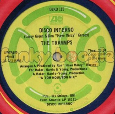 Trammps, The - Disco Inferno (Vocal)