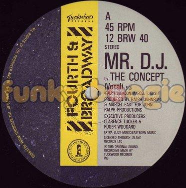 Concept, The - MR. D.J. (Vocal)