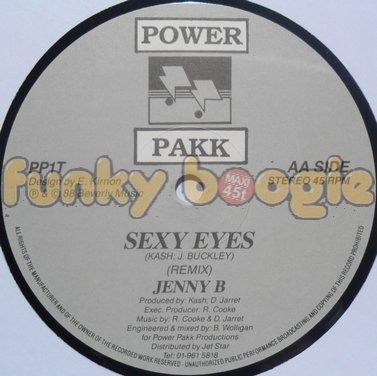Jenny B - Sexy Eyes (Remix)