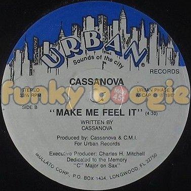 Cassanova - Make Me Feel It