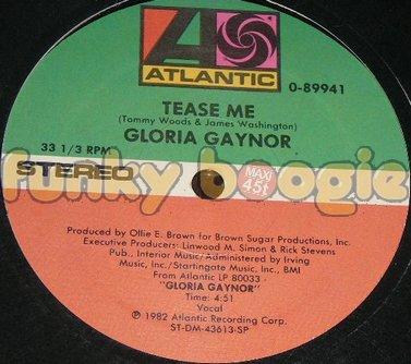 Gloria Gaynor - Tease Me (Vocal)