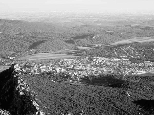Vue du Pic Saint Loup