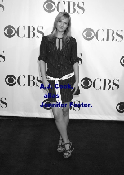 A.J. Cook alias Jennifer Foster.