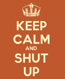 Photo de keepcalm-and-shut-up