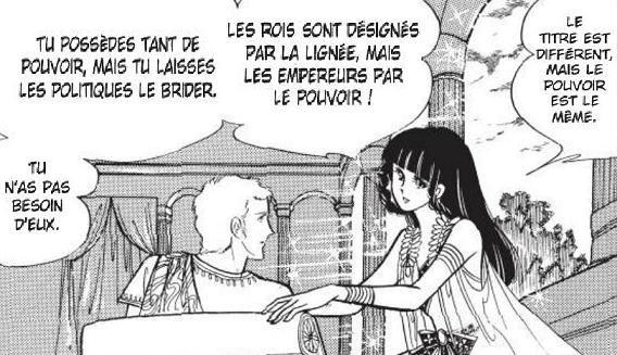 One Shot Cléopâtre Genre : Shojo[Romance, Drame et Historique]