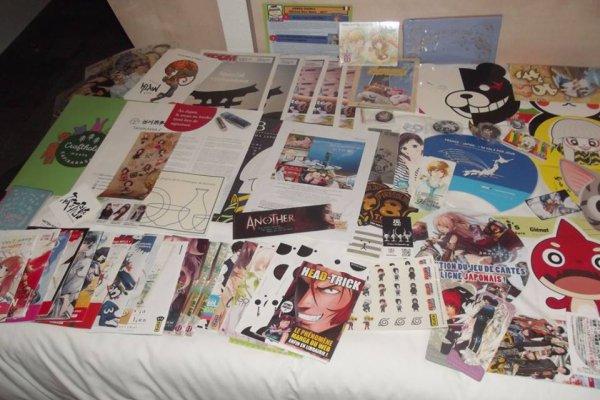 Japan Expo 2017 : Divers choses gratuites et quelques photos