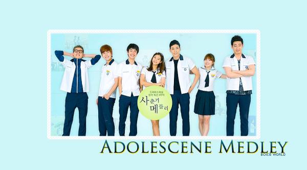 Drama Coréen Adolescence Medley 4 épisodes[Romance et Comédie]