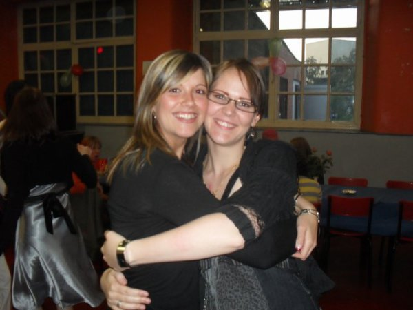 moi et ma belle soeur elo
