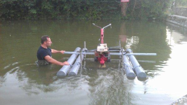 faucardeuse flottante