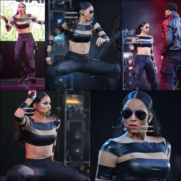 02/04/11: Ciara a performé au Sprite Step Off Show à Atlanta, sa ville natale. (clique pour voir la vidéo)