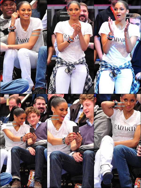 23/03/11: Ciara était au salon d'esthétique Marie Nails pour se faire une pédicure, à Los Angeles.