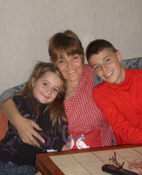 paula mon fils ma fille et mes petits enfants