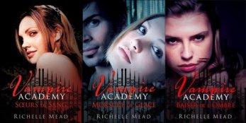 Vampire Academy t1 à t3 -> Richelle Mead